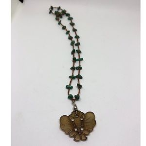 Jewelry - Sterling Asian butterfly necklace